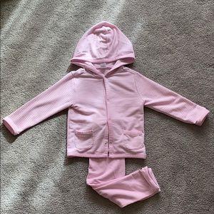 18-24mo girls matching hoodie set